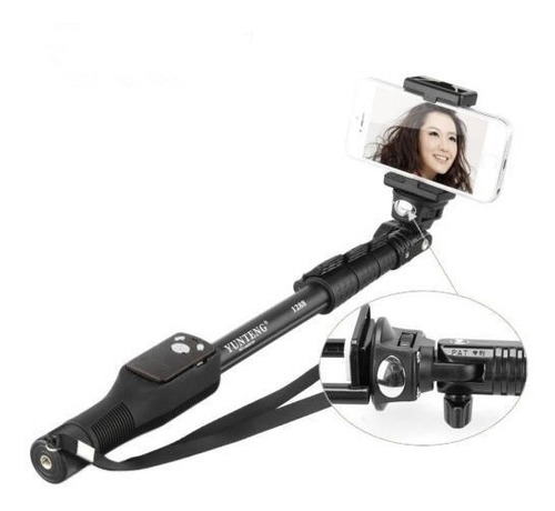 Monopod Para Camaras Gopro, Aee, Sj4000, Sony Action Cam