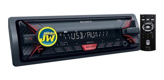 Auto Estereo Sony Dsx A110 / A100 Usb Aux 55w Coloca Gratis