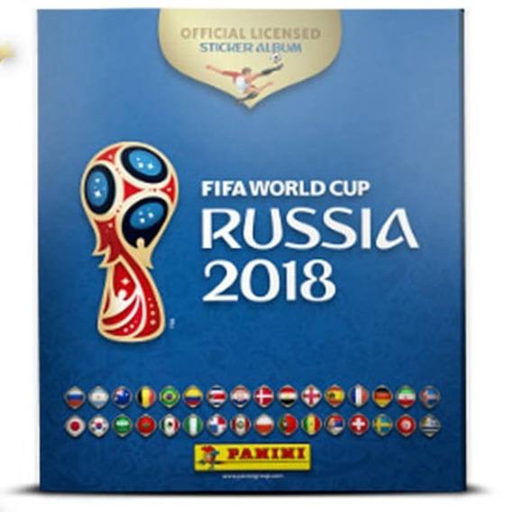Álbum Copa Do Mundo Rússia 2018 Capa Dura - Completo