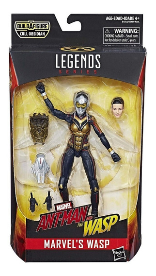 Figura De Ação Vespa Marvel Legends Com Baf Original