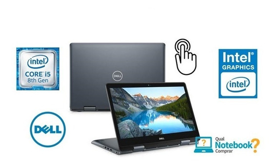 Dell Notebook E Tablet 2 Em 1 I5 8a Ger 8gb 1tb Win10 Touch