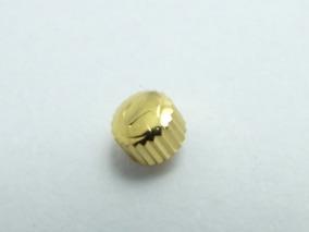 Coroa Rado Dourada 4,5mm X 3,2mm