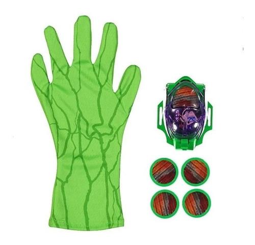 Imagem 1 de 4 de Luva Lança Discos Heróis Vingadores Brinquedo C/ Som E Luzes