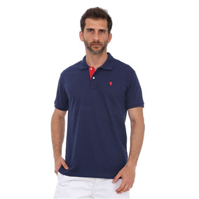 Camisa Polo New York Polo Club Slim Marinho