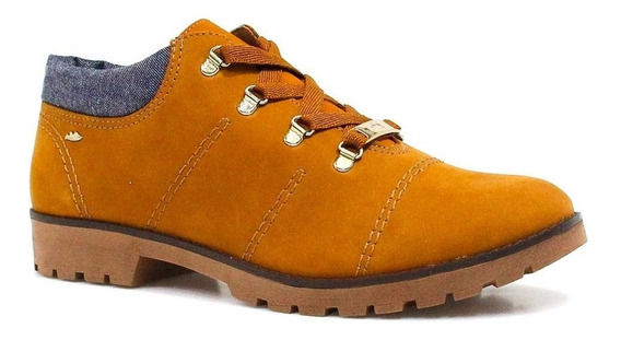 Sapato Feminino Dakota Casual Em Couro Marrom 8531