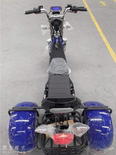 Scooter Eletrica 3 Rodas Patinete Eletrico 2000w Triciclo