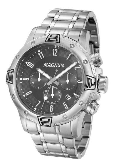 Relógio Magnum Cronógrafo Metal Ma34405t