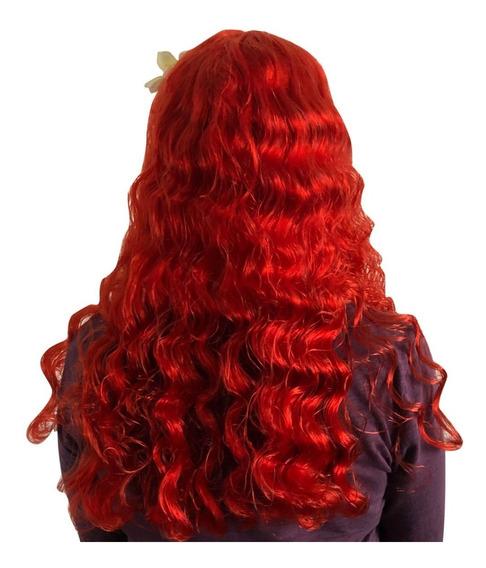 Peluca Sirenita Ariel Para Niña