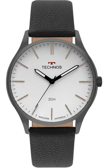Relógio Technos Masculino Classic 2035mqq/2b Preto Analogico