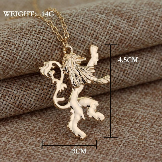 Homens Personalizados Mqchun Game Of Throne Lannister Lion C