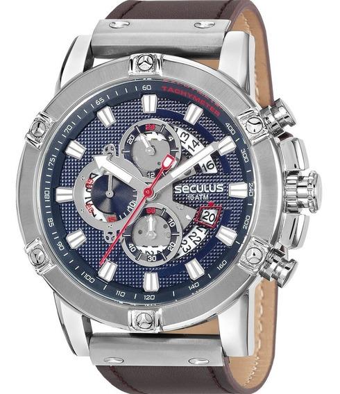 Relógio Seculus Masculino Garantia Original Nfe
