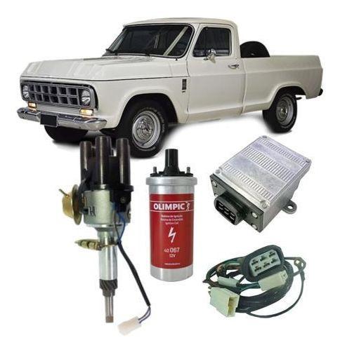 Kit Ignição Eletrônica C10 C14 C15 E Chevrolet Brasil 6cc