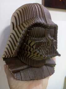 Darth Vader - Busto Em Mdf