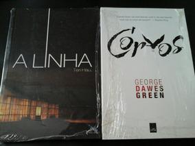 Lote 2 Livros Novos - Corvos - A Linha
