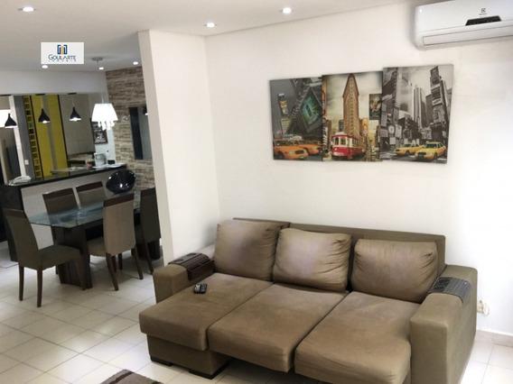 Apartamento A Venda No Bairro Enseada Em Guarujá - Sp. - 3162-1