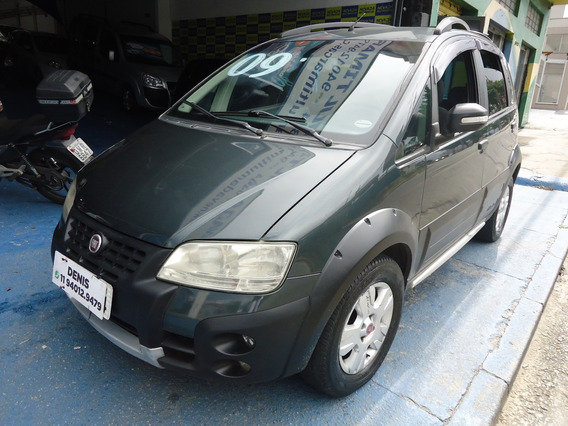 Fiat Idea Adventure 2009 1.0 Flex Cinza