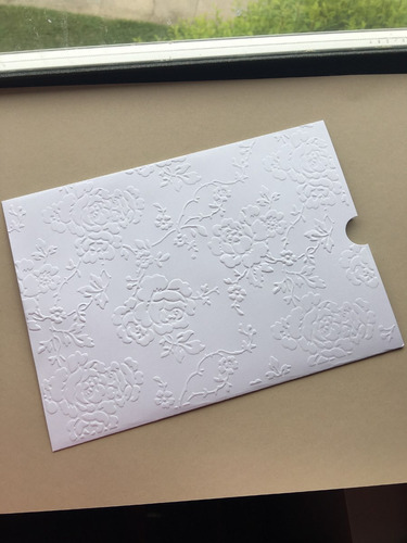 Imagem 1 de 4 de 30 Envelopes Para Convite De Casamento Luva 15x21,5 Branco