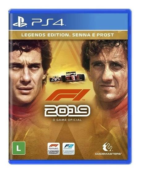 F1 2019 Legends Edition Senna E Prost Ps4 Brasil Lacrado Rj