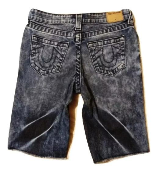True Religion Jeans Bermuda Para Niño De 10 Años. Revivl.