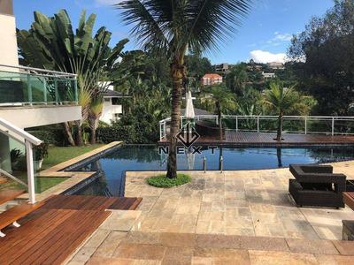 Casa Residencial Para Venda E Locação, Residencial Tamboré, Barueri. - Ca0020