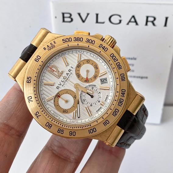 Bvlgari Diagono Professional Terra Chronograph 42mm Ouro