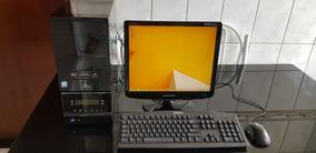 Computador Completo Com Wi-fi, Monitor 17, Teclado E Mouse