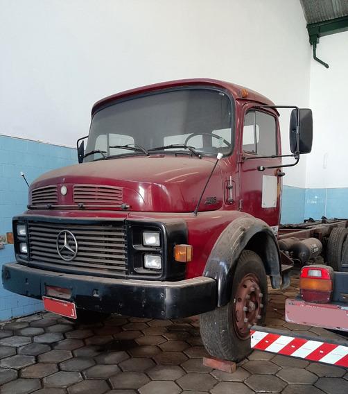 Mbenz L 1118 Chassis - Truckado 3 Eixos - Único Dono