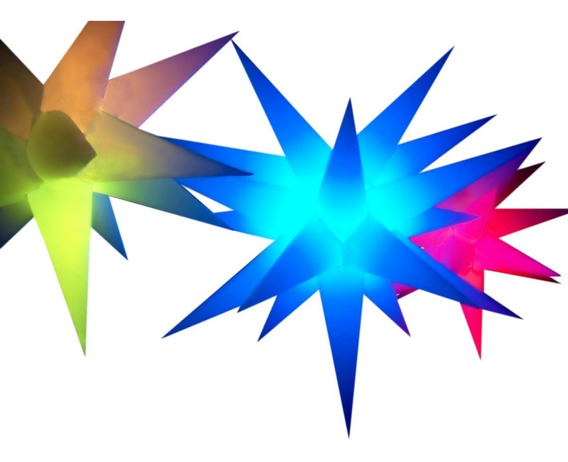 Sputnik Estrela 1de19 Pontas+ 2 De13 Pontas,natal,iluminação
