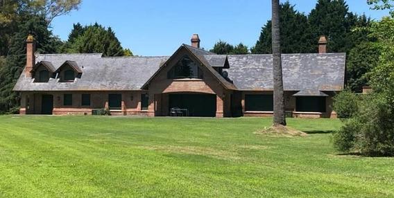Casa En Alquiler Temporario En La Colina Golf & Polo En Lujan.
