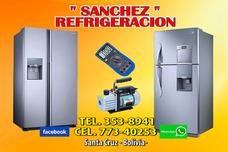 Sanchez Refrigeracion Cel. 773-40253