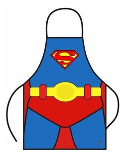 Delantal De Cocina Niños Batman Superman Mujer Maravilla