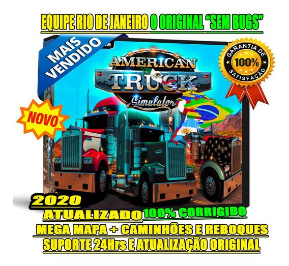American Truck Mega Mapa Patch Américas Norte/ Central/ Sul