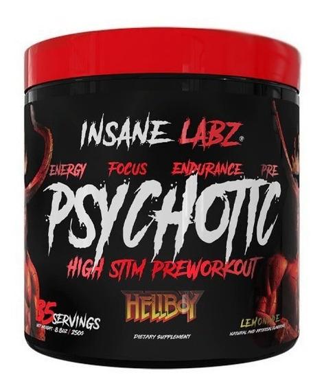 Pre Entreno Insane Labz Psychotic Hellboy 35 Porciones