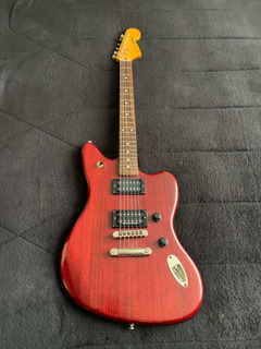 Fender Modern Player Jaguar Red Transparent