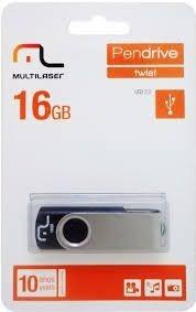 Pen Drive Multilaser Usb Twist 2 16gb Pd104