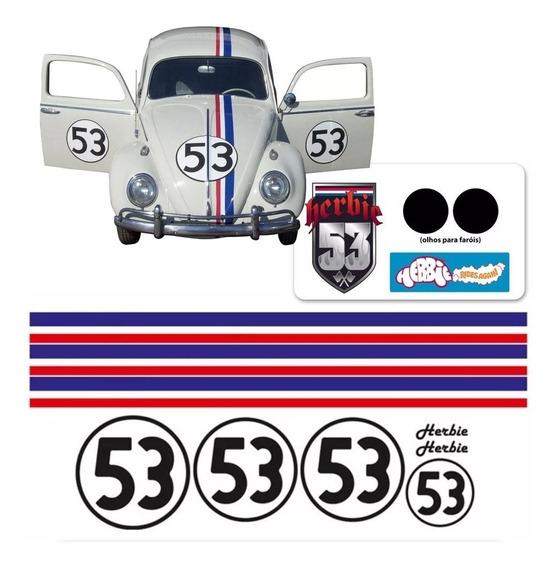 Kit Faixas/adesivos Fusca / New Beatle - Herbie 53