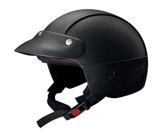 Casco Abierto Vertigo Custom Negro Motocity