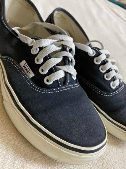 Zapatillas Vans U Era Originales Usadas Negras Clasicas