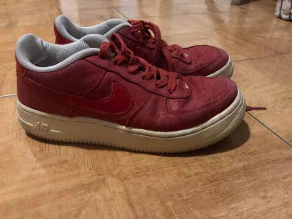 Zapatillas Nike Air Force Rojas