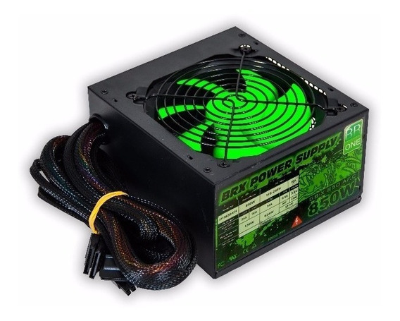 Fonte Real Gamer Brx 850w - Active Ups850 Dragon