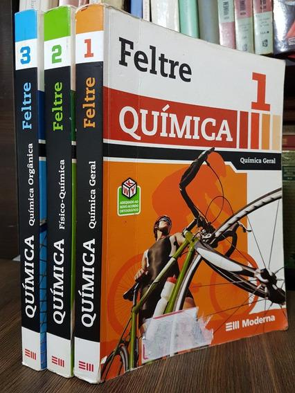 Ime Ita Medicina Química 3 Volumes - Ricardo Feltre