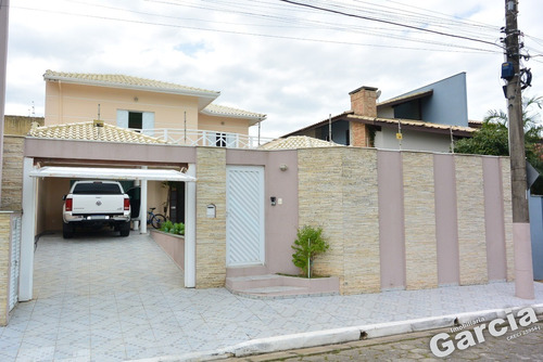 Imagem 1 de 30 de Sobrado Alto Padrão, Com 4 Dormitórios Em Peruíbe - 6100 - 69819452