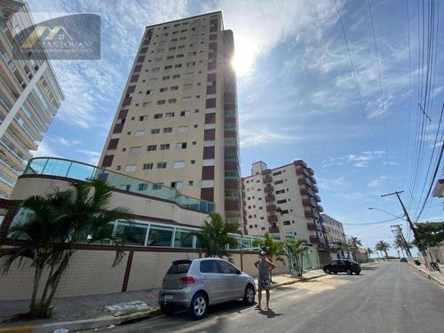 Imagem 1 de 18 de Apartamento Com 1 Dormitório À Venda, 47 M² Por R$ 210.000,00 - Caiçara - Praia Grande/sp - Ap2732