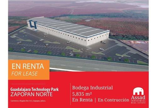 Bodega En Renta Zapopan Norte Bts/industrial Werehouse For Lease Zapopan Desde 5,835m2 En Parque Indistrial Guadalajara Technology Park