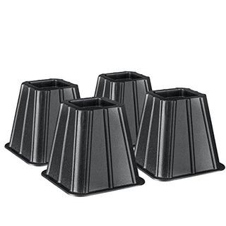 Paquete De 4 Soportes Para Cama Ideales Para Crear Espacio D