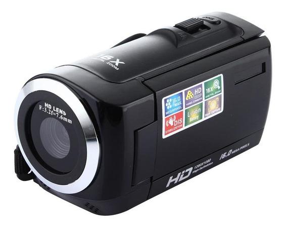Câmera De Vídeo Digital 1080p Full Hd 16mp Com Tela Lcd Rota