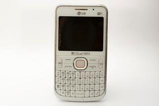 Celular Branco LG Dual Chip Desbloqueado C397