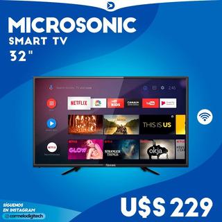 Smart Tv Microsonic 32 - Envios A Todo El Pais