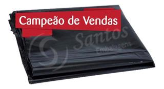Embalagem P Silagem 60x110 240 Micras C/100 Preto Cinta Plás