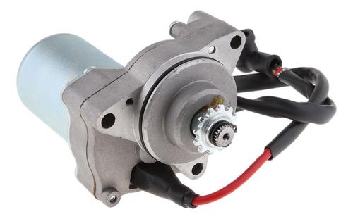Imagen 1 de 6 de Arrancadores Arranque Eléctricos Compatible Con Gy6 50cc